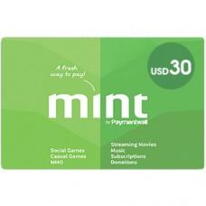 بطاقه منت Mint 30 دولار