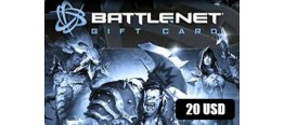 بطاقة BattleNet 20 دولار