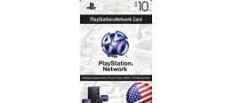 بطاقة بلايستيشن نتورك- بطاقة 10 دولار (المتجر الأمريكي)