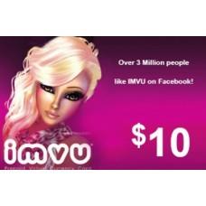 كرت ايمفيو IMVU فئة 10 دولار