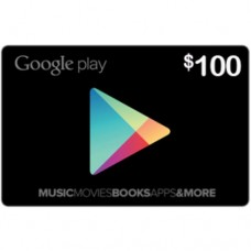 جوجل بلاي 100 دولار
