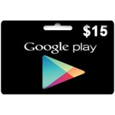 جوجل بلاي 15 دولار
