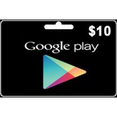 جوجل بلاي 10 دولار