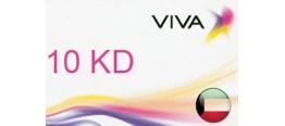 بطاقة شحن VIVA قيمة 10 دنانير